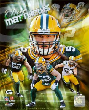 Clay Matthews 2011 Portrait Plus