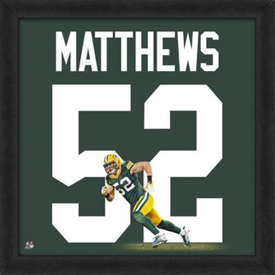 Clay Matthews, Packers representation of the player's jersey