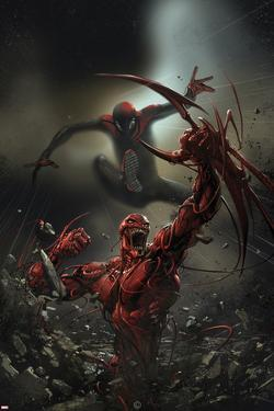 Superior Carnage #4 Cover: Spider-Man, Carnage by Clayton Crain