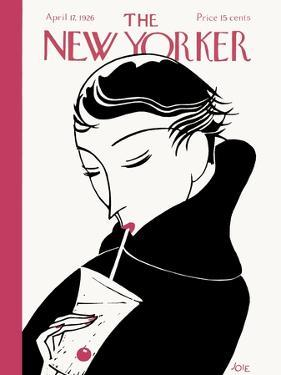 The New Yorker Cover - April 17, 1926 by Clayton Knight