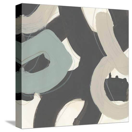 Clean Slate VI-June Erica Vess-Stretched Canvas Print