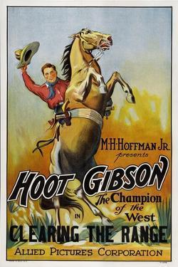Clearing The Range, Hoot Gibson, 1931