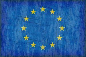 Grungy European Flag by clearviewstock