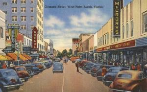 Clematis Street, Palm Beach, Florida