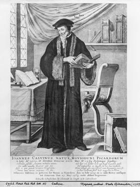 John Calvin by Clement de Jonghe