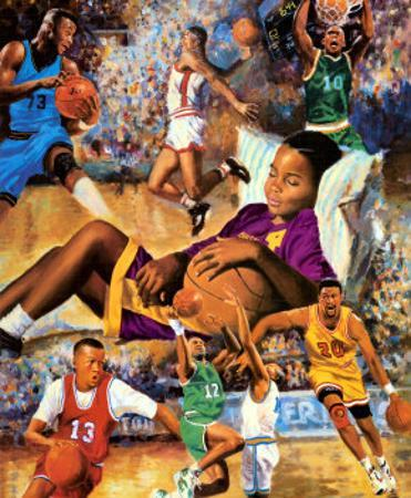 Dreaming Big (Basketball) by Clement Micarelli