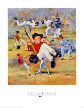 Little Leaguer by Clement Micarelli