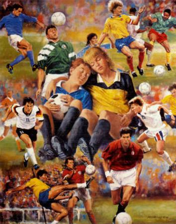 Soccer Dreamers by Clement Micarelli