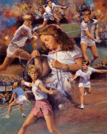 Tennis Dreaming by Clement Micarelli