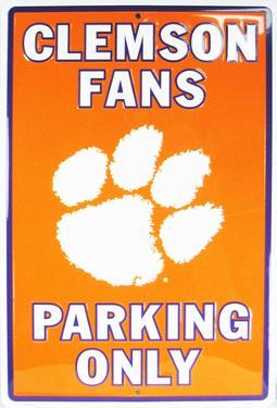 Clemson University Parking Only