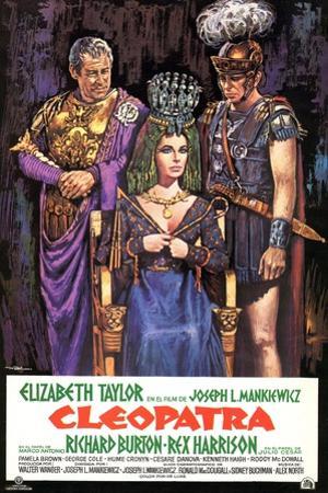 Cleopatra, 1963, Directed by Joseph L. Mankiewicz