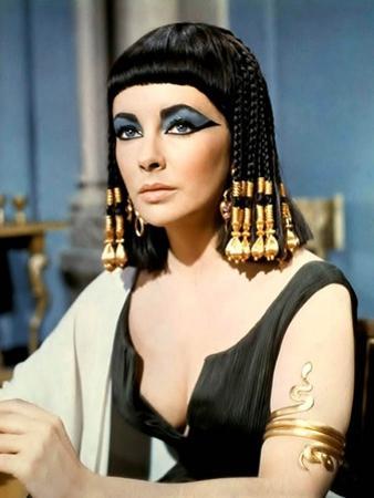 Cleopatre by Joseph L. Mankiewicz with Elizabeth Taylor, 1963 (photo)