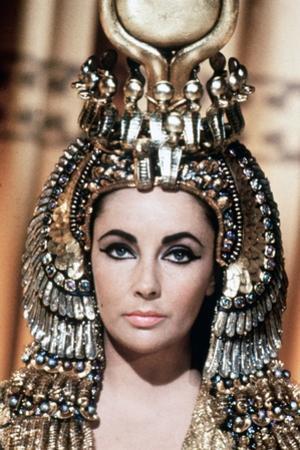 Cleopatre Cleopatra, by Joseph L. Mankiewicz with Elizabeth Taylor, 1963 (photo)