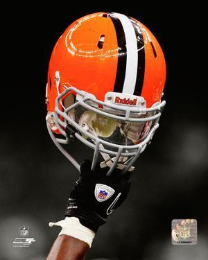 Cleveland Browns Helmet Spotlight
