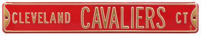 Cleveland Cavaliers Ct Steel Sign