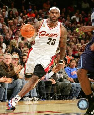 Cleveland Cavaliers - LeBron James Photo