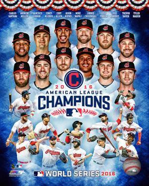 Cleveland Indians 2016 American League Champions Composite