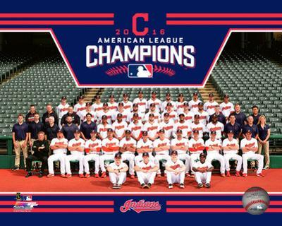 Cleveland Indians 2016 American League Champions Team Sit Down