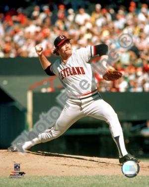 Cleveland Indians - Len Barker Photo