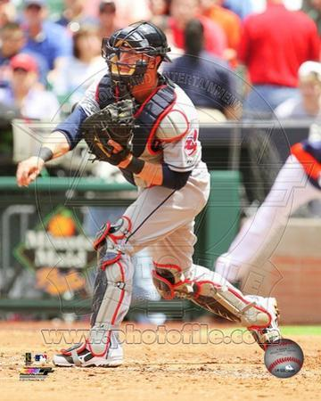 Cleveland Indians Yan Gomes 2013 Action