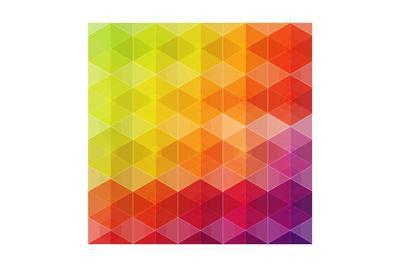 Geometric Hipster Retro Background