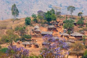 Adrica,Malawi,Lilongwe district. Typical village by ClickAlps