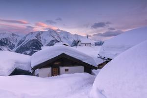 Bettmeralp at Sunset, canton Valais, Switzerland. by ClickAlps