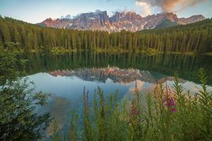 Carezza's Lake, Dolomites, Bolzano, Trentino Alto Adige, Italy. by ClickAlps