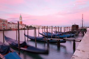 Grand Canal of Venice at sunset,Veneto,Venice district,Italy by ClickAlps