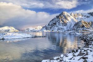 Henningsvaer Fjord. Lofoten Islands. Norway. Europe by ClickAlps