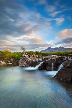 Isle of Skye, Scotland. Sunset taken in Sligachan, at the bottom of the Black Cuillins by ClickAlps