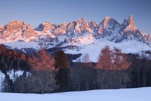 Pale of San Martino, Dolomites, Trento province, Trentino Alto Adige, Italy, Europe. View of Cimon  by ClickAlps
