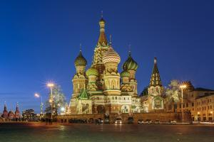 Russia, Moscow, Red Square, Kremlin, St. Basil's Cathedral by ClickAlps