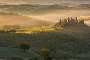 The Belvedere at San Quirico d'Orcia. Tuscany Italy by ClickAlps