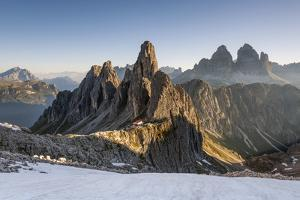 The 'Cadini Di Misurina' Peaks are Shot as the Sun Is Rising in the Dolomites by ClickAlps