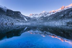 Tovel lake  Europe, Italy, Trentino Alto Adige, Trento district, Tovel valley, Non valley, Tuenno c by ClickAlps