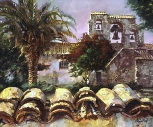 Wall at San Miguel by Clif Hadfield