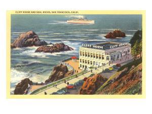 Cliff House, Seal Rocks, San Francisco, California