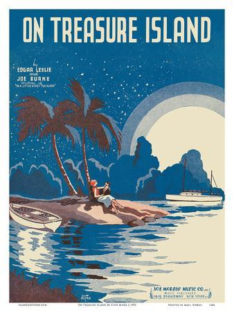 On Treasure Island - Words by Edgar Leslie - Music by Joe Burke