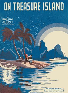 On Treasure Island - Words by Edgar Leslie - Music by Joe Burke by Cliff Miska