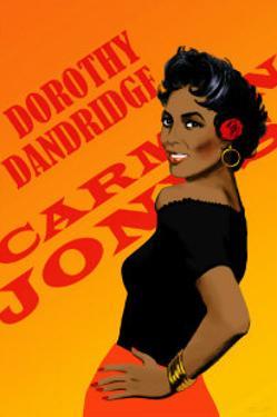 Dorothy Dandridge by Clifford Faust