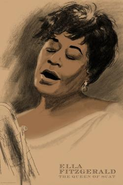 Ella Fitzgerald by Clifford Faust