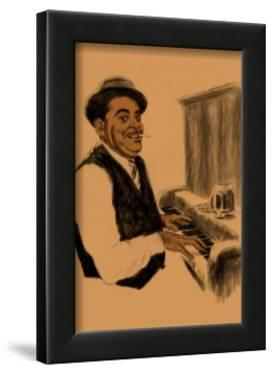 Fats Waller by Clifford Faust