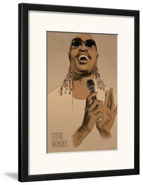 Stevie Wonder by Clifford Faust