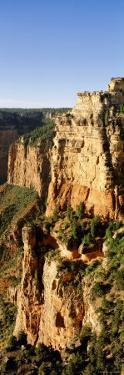 Cliffs at Grandview Point, Grand Canyon National Park, Grand Canyon, Arizona, USA