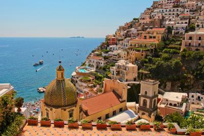 Cliffs of the Almafi Coast Italy