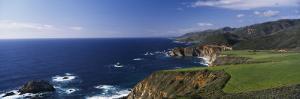 Cliffs on the Coast, Big Sur, California, USA