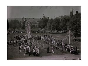 Bryn Mawr College Students Celebrating May Day by Clifton and Edwin Adams and Wisherd