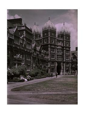 University of Pennsylvania, Founded in 1740 by Clifton and Edwin Adams and Wisherd