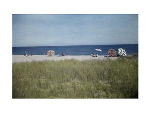Vacationer's Enjoy the View of the Atlantic from Chatham Beach by Clifton R. Adams